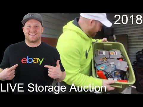 Storage Auction LIVE 79 NES Games Haul | 2018