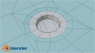 Blender 2.8,моделирование,как сделать отверстие,модификатор Boolean,уроки для новичков,Игрострой
