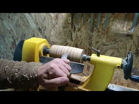 Wooden Mallet build on lathe for my  diy shop