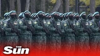 Live Turkeys Erdogan joins Azerbaijan victory against Armenia military parade