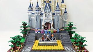 Custom Platform for LEGO Disney Castle 71040