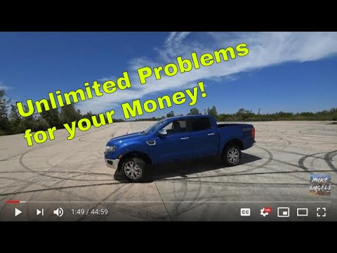 Another Ford FAIL ?? 2019 Ford Ranger Full detailed Interior exterior Review vs POV test drive!