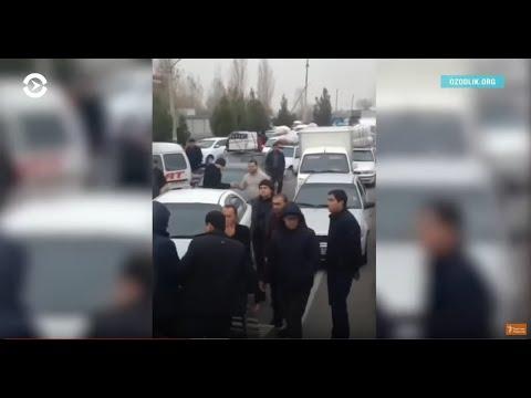 Азия: протесты в Узбекистане