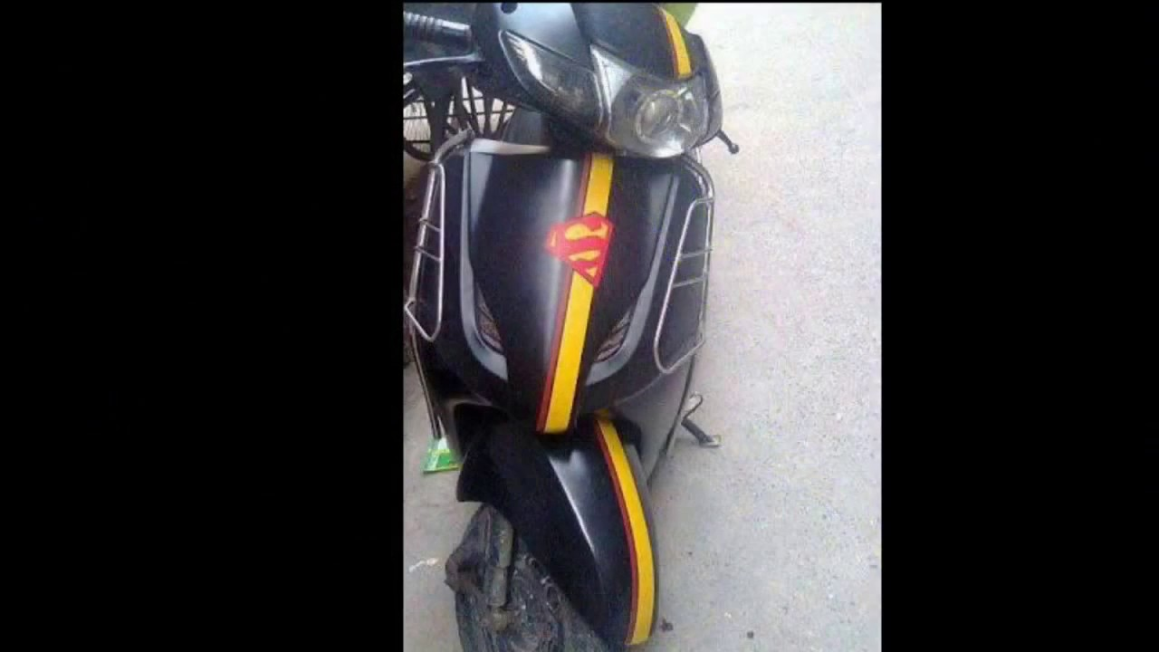 Modified Activa (BEST HONDA ACTIVA MODIFICATIONS) 2015