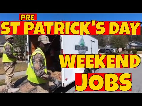 lawn care company -  jobs before St. Patrick Day 2018