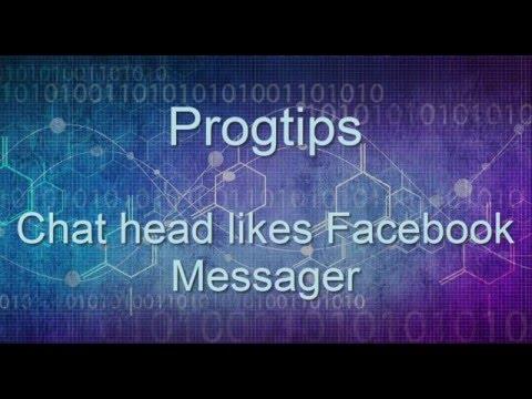 Facebook Messenger Chat Head