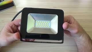 Прожектор светодиодный LLT СДО 5-20 (20Вт 6500К 1500Лм IP65) - Обзор