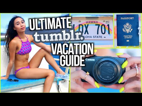 What To Pack On Vacation! Airplane Essentials/Tips + Outfits!