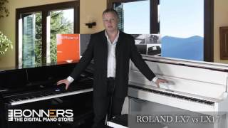 Roland LX7 vs LX17 Digital Piano Buyers Guide