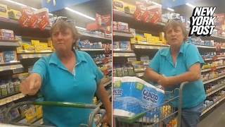 Anti-immigrant Walmart shopper unleashes nasty slurs | New York Post