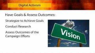 Digital Activism & Success Strategies for Non-Profits