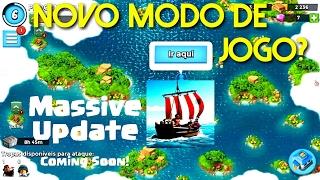 Clash Of Clans terá novo MODO DE JOGO parecido com Boom Beach?! Nova atualização