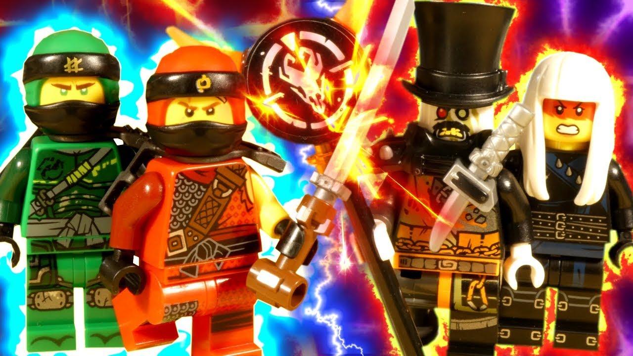 LEGO NINJAGO HUNTED PART 1 - THE HUNT BEGINS