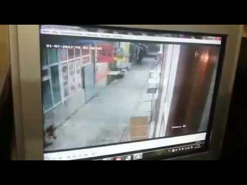 Поджог в Таразе 9мкр. Бутики