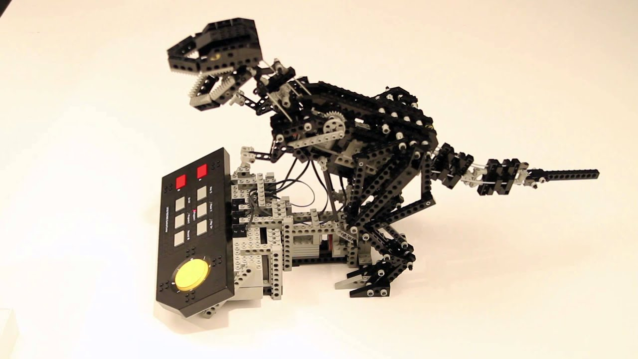t-rex lego technic