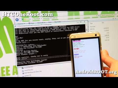 How To Get S-OFF on HTC One!