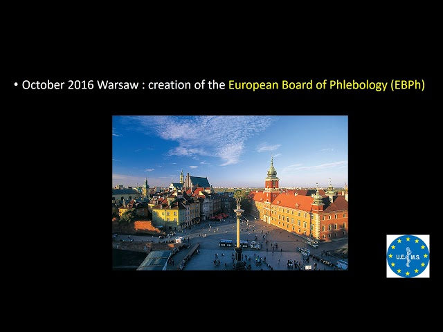 European Training Requirement in Phlebology