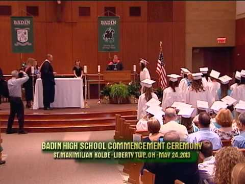 2013 Badin High School Commencement Ceremony