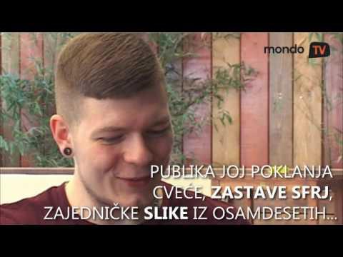 Bojan Kvočka - Basista metalac iz benda Lepe Brene   Mondo TV