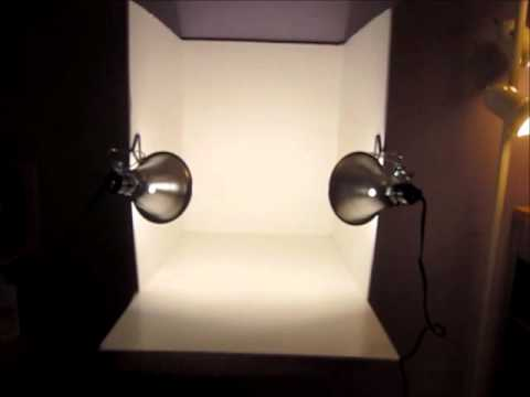 My Homemade Photo Studio Light Box