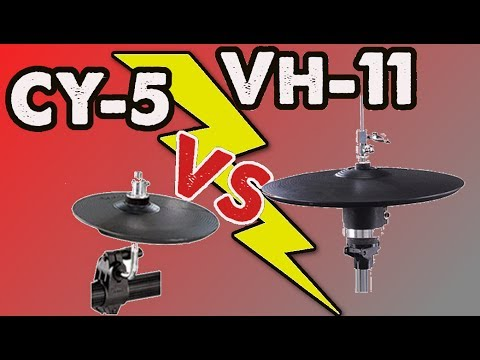 roland cy 5 vs vh 11 which hi hat is better youtube. Black Bedroom Furniture Sets. Home Design Ideas
