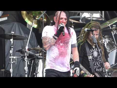 Hellyeah - Moth LIVE River City Rockfest San Antonio 5/29/16