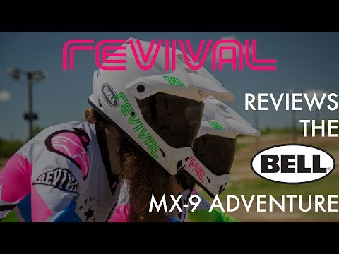 Revival Cycles reviews the Bell Helmets MX-9 Adventure