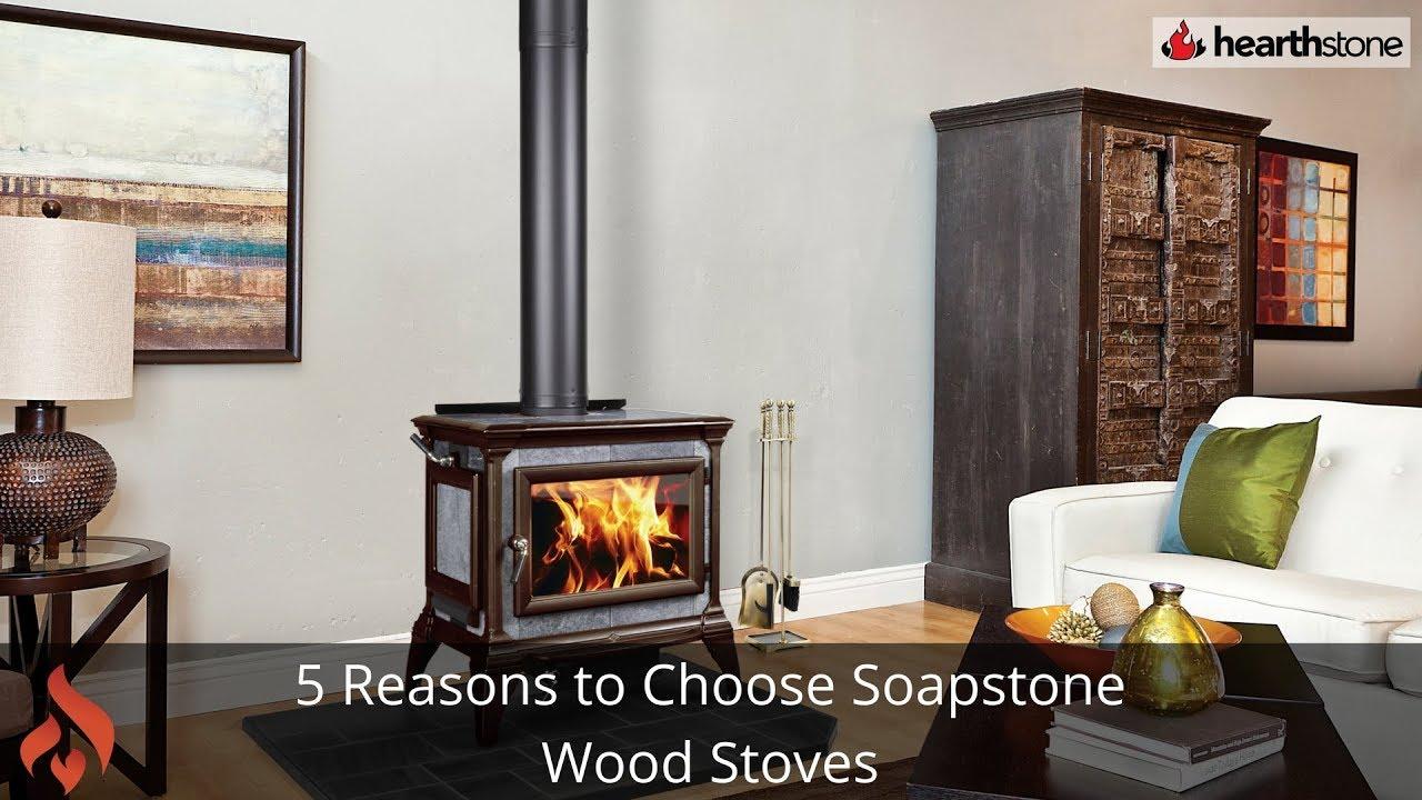 5 reasons to choose soapstone wood stoves - YouTube