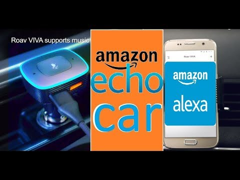 THE FIRST AMAZON ECHO AUTO - ROAV VIVA w/ ALEXA UNBOXING | REVIEW | SETUP Mp3