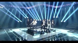 [110911] HD   Super Junior - Good Person(KRY) + Superman + Mr Simple [Inkigayo Goodbye Stage]