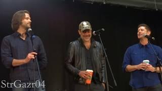 Jensen Ackles, Jared Padalecki, & Jeffrey Dean Morgan Gold Panel - NJcon 2017