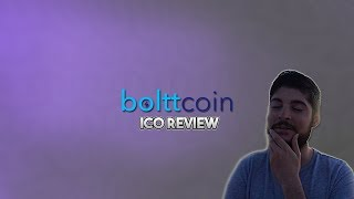 What is BolttCoin (BOLTT)? Should You Invest? [ICO Review]