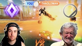 F2 CHAMP vs 82 Y/O MAN (My best freestyle shot ever)