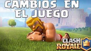 CAMBIOS EN EL BALANCE DE CLASH ROYALE   Actualizacion   Clash Royale con TheAlvaro845   Espanol