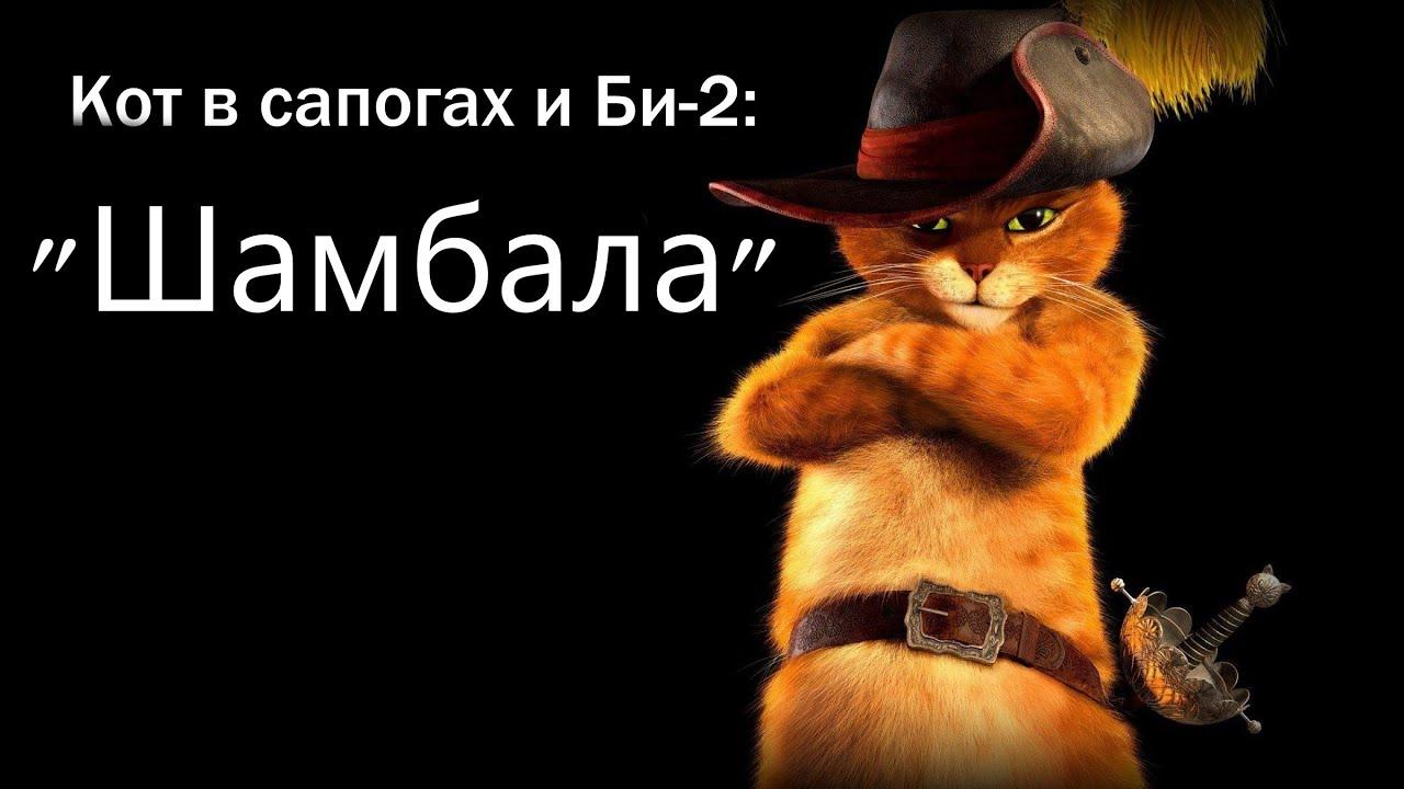 Кот в сапогах текст песня