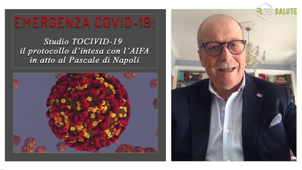 #Coronavirus lo studio #Tocivid19 - Intervista al Prof. Raffaele Tortoriello,