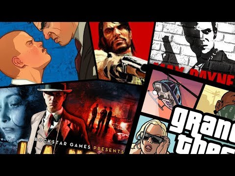 No More GTA ONLY Videos... I'm Uploading EVERY Rockstar Game - Bully, Manhunt & MORE!