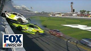 Repeat youtube video Parker Kligerman Flips Into Fence - Daytona 500 Practice - 2014 NASCAR Sprint Cup