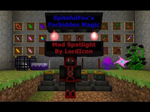 Mod Spotlight: Forbidden Magic for Minecraft 1 7 YouTube