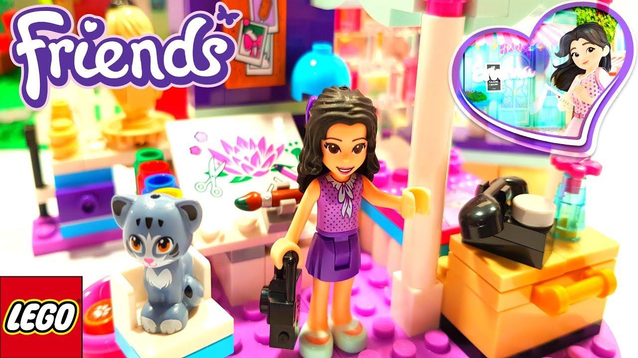 Lego Friends Emmas Deluxe Bedroom Building Review 41342