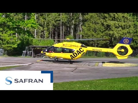 First rescue helicopter flies on sustainable aviation fuel | Safran