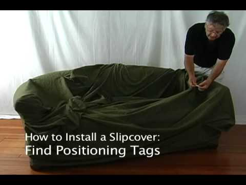 how to change the sofa cover