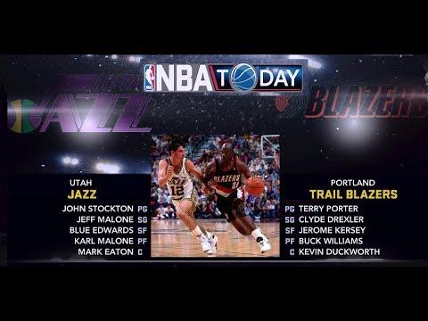 NBA 2K11 - Utah Jazz vs. Portland Trail Blazers (1991/92 Mod) - 4K PC