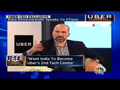 Uber CEO Dara Khosrowshahi Bets Big On India