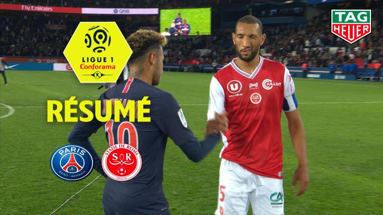 Paris Saint Germain Stade De Reims 4 1 Resume Paris