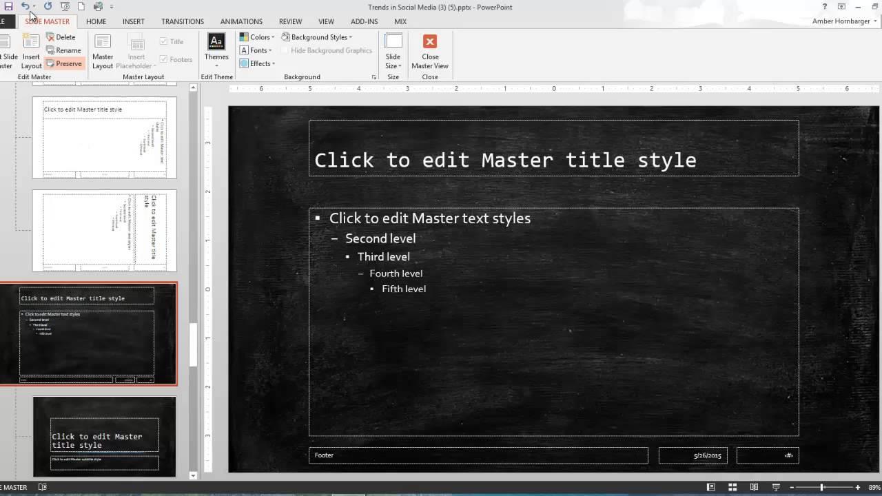 Powerpoint multiple masters youtube powerpoint multiple masters toneelgroepblik Gallery