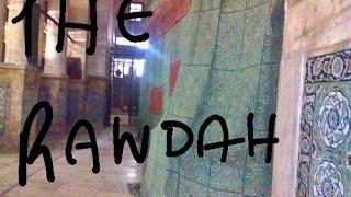 Inside Prophet Muhammad (pbuh) Grave | inside the Rawdah (behind the gates)