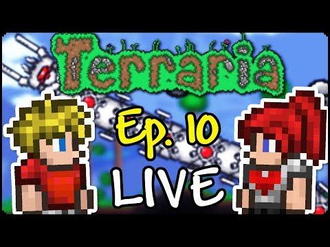 Terraria LIVE | Ep. 10 - Végzetes Destroyer és Vörös szakáll! - w/DoggyAndi