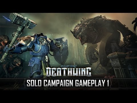 Space Hulk: Deathwing - Solo Campaign 17min Uncut Gameplay