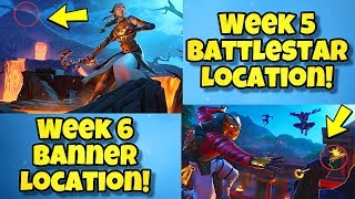 SEASON 8 WEEK 5 & 6 LOADING SCREEN SECRET BATTLE STAR LOCATION In Fortnite BR (HIDDEN BANNER & STAR)